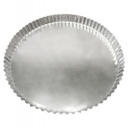 FORMA TORTA DE MAÇA 13 X 3 CM FUNDO FIXO