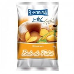 MISTURA BOLO GOLD FUBA FLEISCHMANN 5KG