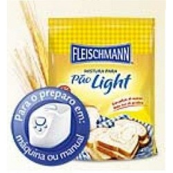MISTURA PARA PÃO LIGHT FLEISCHMANN 450GR