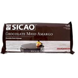 CHOCOLATE SICAO MEIO AMARGO 1,05KG