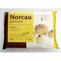 CHOCOLATE NORCAU BRANCO 1,01KG