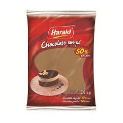CHOCOLATE EM PÓ HARALD 50% CACAU
