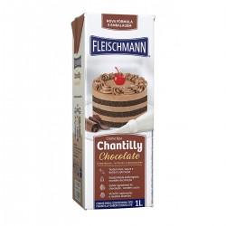 CHANTILLY FLEISCHMANN CHOCOLATE 1LITRO