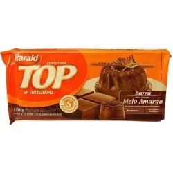 CHOCOLATE TOP HARALD MEIO AMARGO 1,05KG