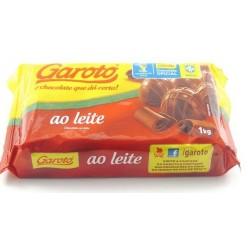 CHOCOLATE GAROTO AO LEITE 1KG