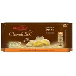 CHOCOLATE MAVALÉRIO BRANCO PURO 1,01KG