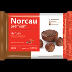 CHOCOLATE NORCAU AO LEITE 1,01KG