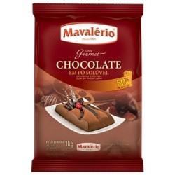 CHOCOLATE EM PÓ MAVALÉRIO 50% CACAU